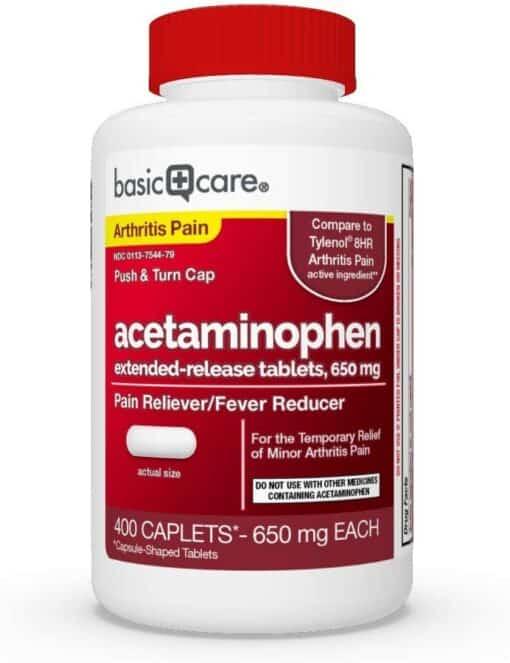 acetaminophen er 650